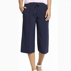 ATHLETA Blue Crosstown Culotte Pants